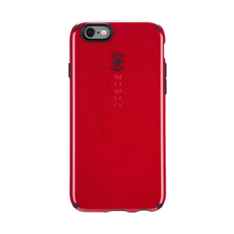 iBuy Speck CandyShell Casing for iPhone 5/5S/SE - Red Black