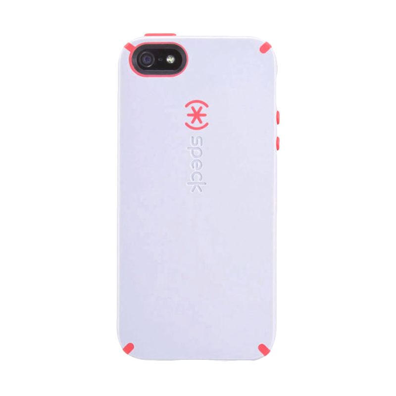 iBuy Speck CandyShell Casing for iPhone 5/5S/SE - White Red