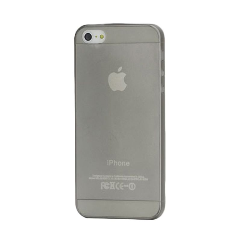 iBuy Ultra Thin Abu-abu Casing for Apple iPhone 5 [0.2 mm]