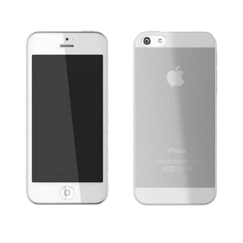 iBuy Ultra Thin Case Clear Casing for iPhone 5 [0.3 mm]