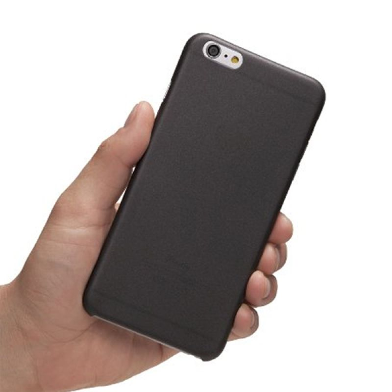 iBuy Ultra Thin Hitam Casing Doff for iPhone 6 Plus [0.2 mm]