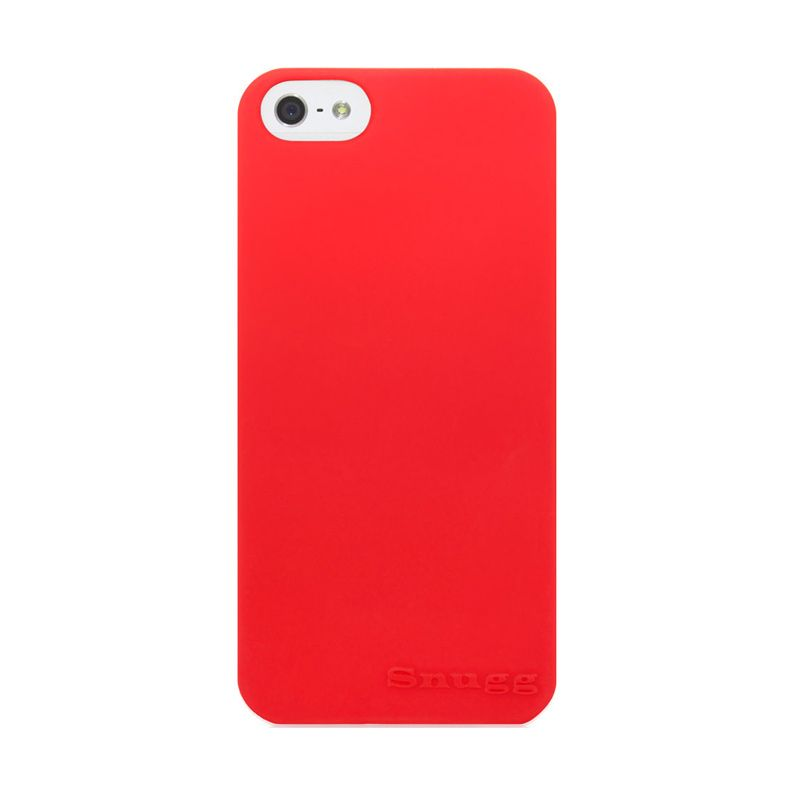iBuy Ultra Thin Merah Casing for iPhone 5 [0.2 mm]