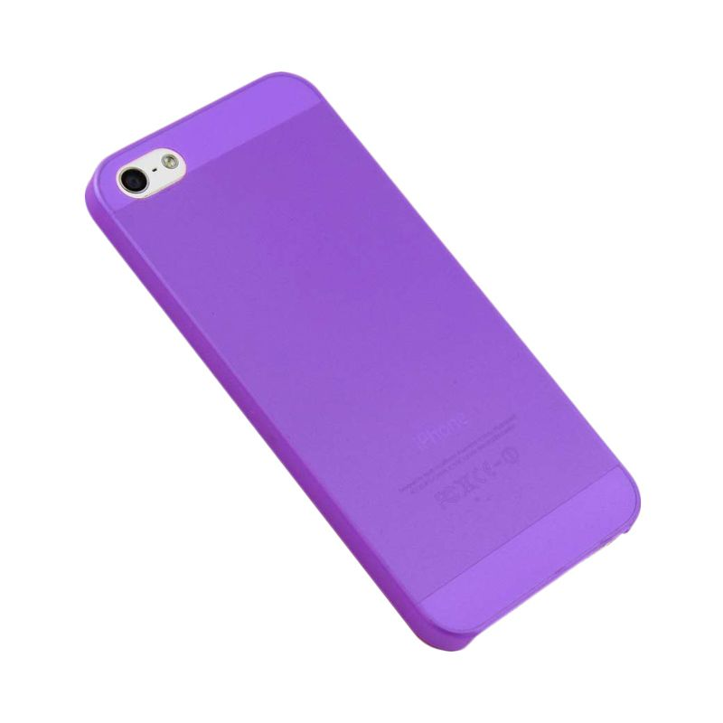 iBuy Ultra Thin Purple Casing for iPhone 5 [0.2 mm]