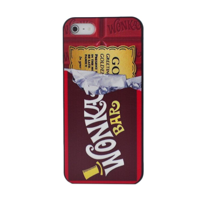 iBuy Wonka Chocolate Red Casing for iPhone 5 or 5s