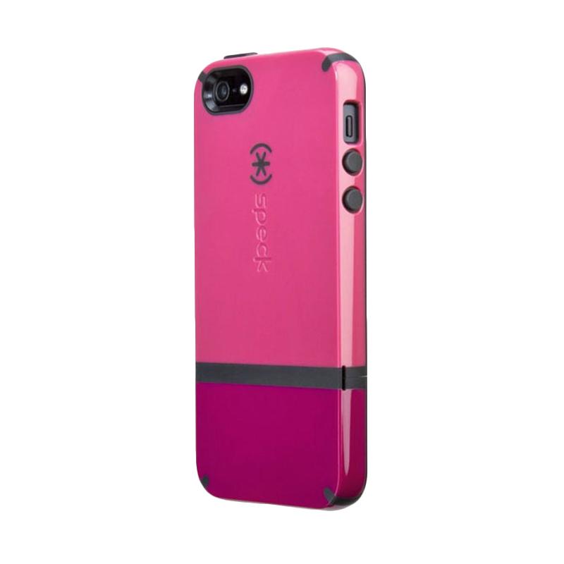 Speck CandyShell Flip Casing for Iphone 5/5S/SE - Magenta Black