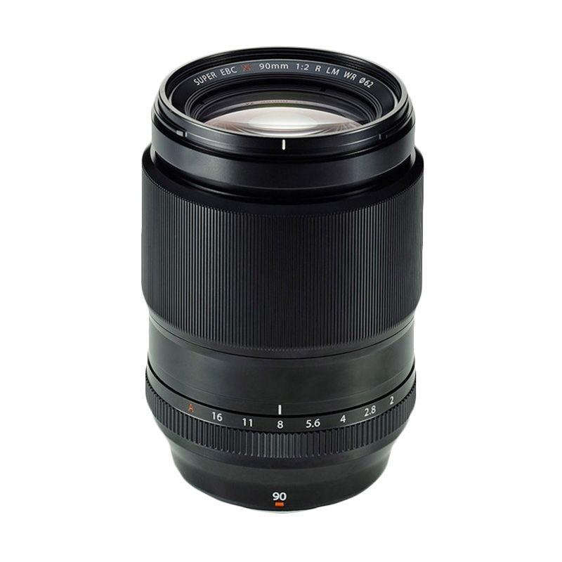 Fuji XF 90mm f/2 R LM WR Lensa Kamera
