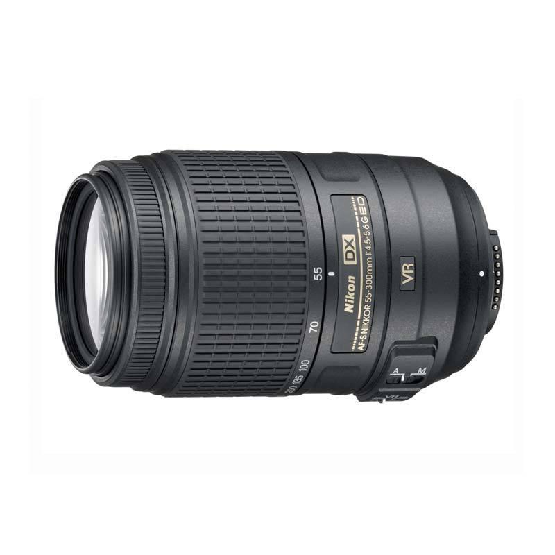Nikon Lensa AF-S DX VR 55-300mm f/4.5-5.6 G