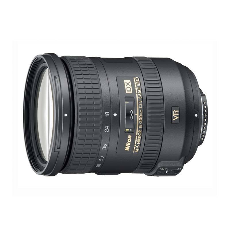 Nikon Lensa AF-S DX VR II 18-200mm f/3.5-5.6 G