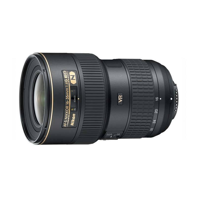 Nikon Lensa AF-S VR 16-35mm f/4 G ED