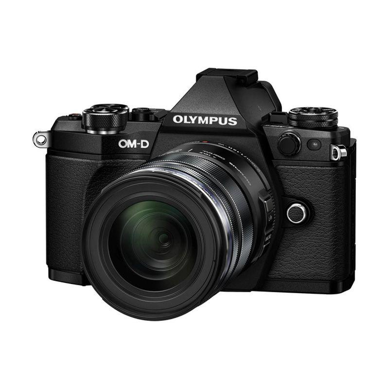 Olympus E-M5 Mark II 12-50mm Black Kamera Mirrorless
