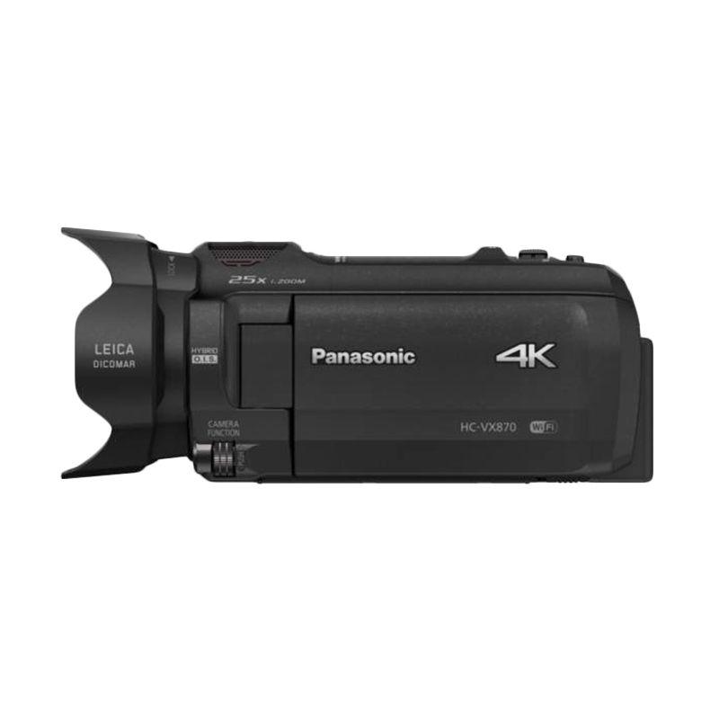 Panasonic HC VX 870 GC Hitam Camcorder