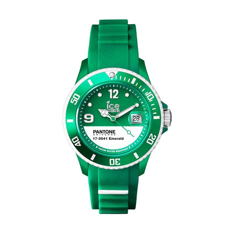 Ice Watch Pantone Emerald White Jam Tangan Unisex