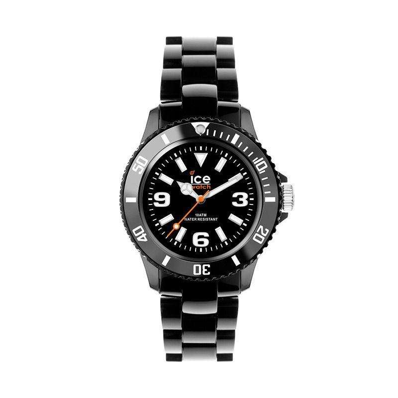 Ice Watch Solid Big Black Jam Tangan Pria
