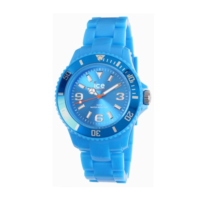 Ice Watch SD.BE.S.P.12 Solid Small Blue Jam Tangan Wanita