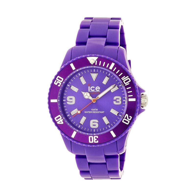 Ice Watch Unisex SD.PE.U.P.12 Solid Purple Jam Tangan Wanita