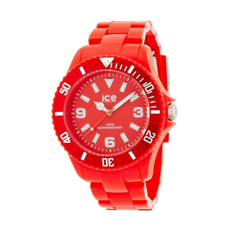 Ice Watch Unisex SD.RD.U.P.12 Solid Red Jam Tangan Wanita