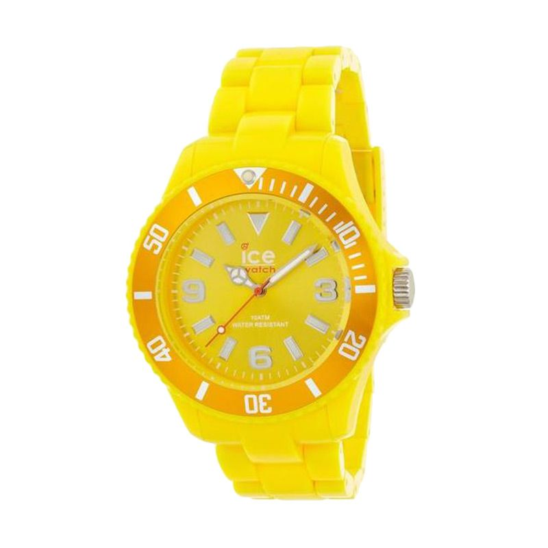 Ice Watch Unisex SD.YW.U.P.12 Solid Yellow Jam Tangan Wanita