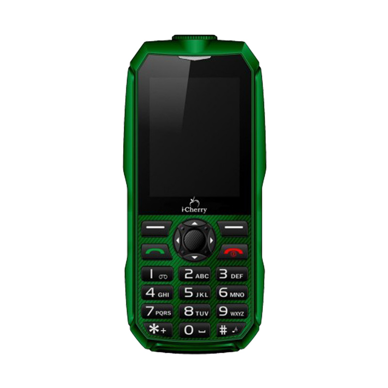 harga iCherry C96 Titanium Handphone - Hijau [Tahan Banting/Baterai 3000 mAh] Blibli.com
