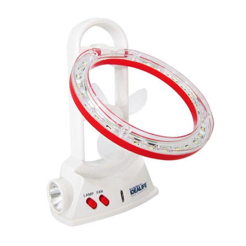 Idealife Emergency Lamp with Fan