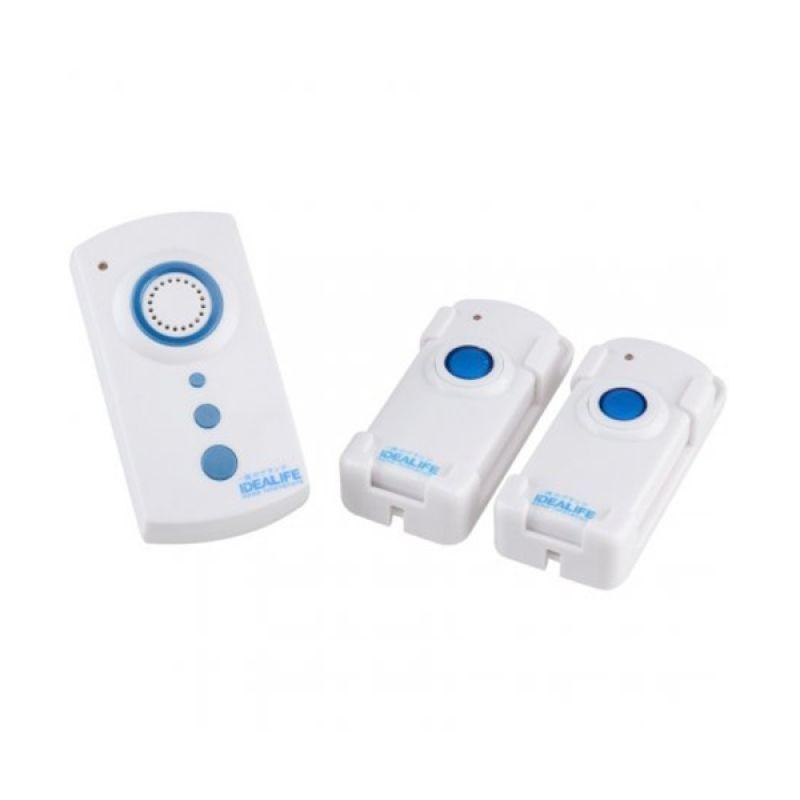 Idealife Wireless Doorbell 2 Remote Bel Pintu