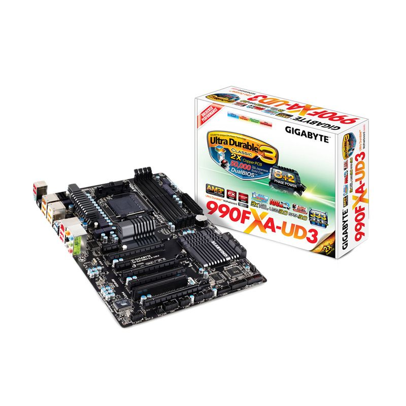 Gigabyte GA-990FXA-UD3 Motherboard