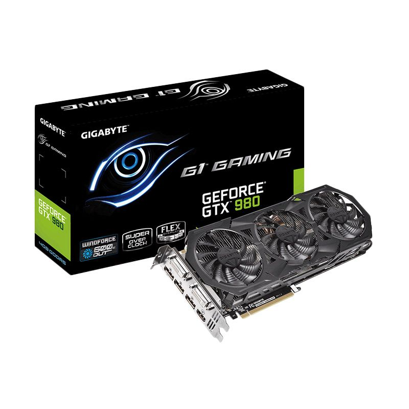 Gigabyte GeForce GTX 980 GV-N980G1 GAMING-4GD Graphic Card