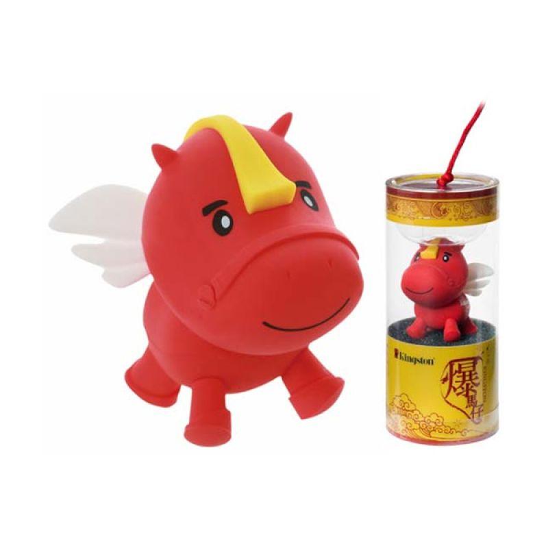 harga Kingston DTCNY14 16 GB Shio Horse 2014 Red Flashdisk Blibli.com