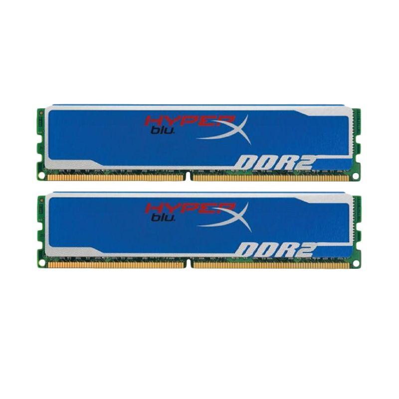 Kingston HyperX KHX6400D2B1K2/2G Memory RAM [1 GB x2/DDR2/800 MHz]