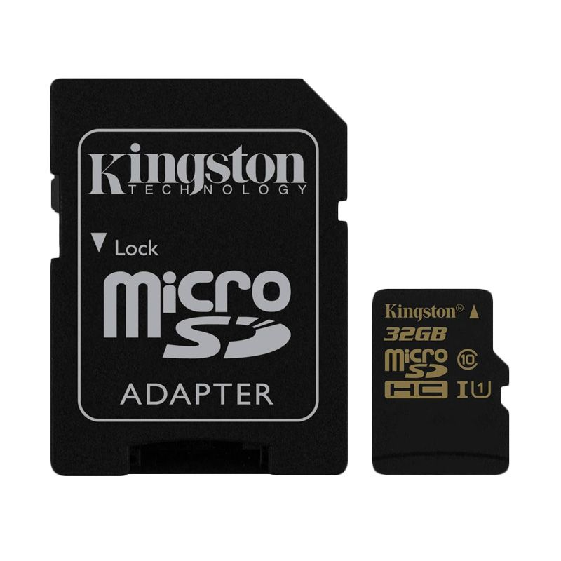 Kingston Micro SDHC Class 10 UHS-I Memory Card [32 GB]