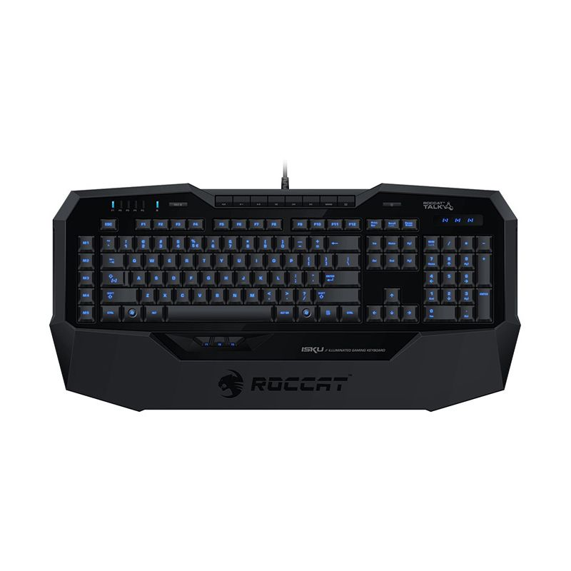 ROCCAT ISKU Hitam Gaming Keyboard