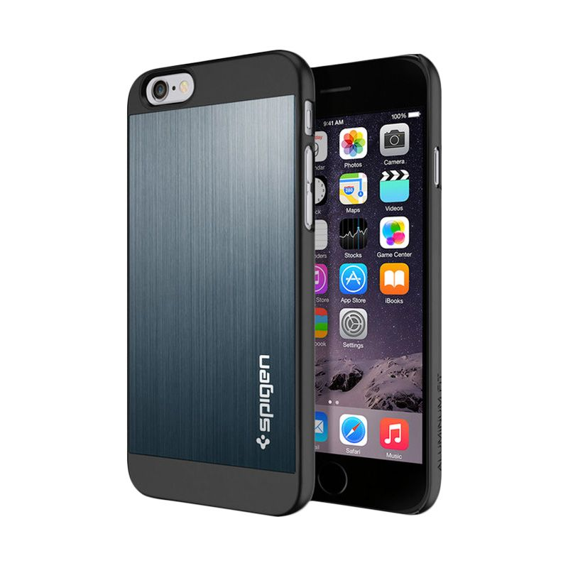 Spigen Aluminum Fit 4.7 Metal Slate Casing for iPhone 6