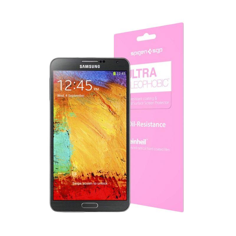 Spigen Steinheil Ultra Oleophobic Transparan Screen Protector for Samsung Galaxy S5