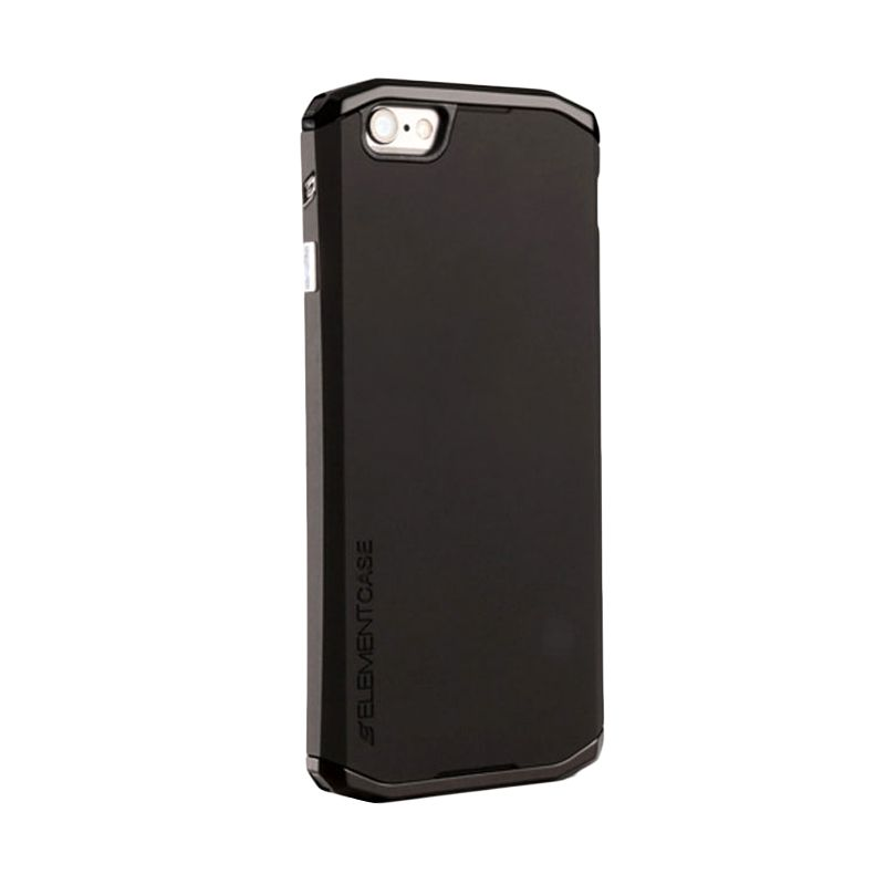 Element Case Original Solace Chroma Black Gunmetal Casing for iPhone 6 Plus [5.5 Inch]