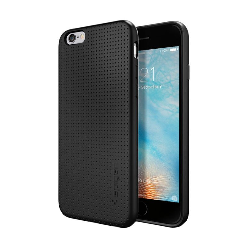Spigen Capsule Black Casing for iPhone 6S or 6 [4.7 Inch]