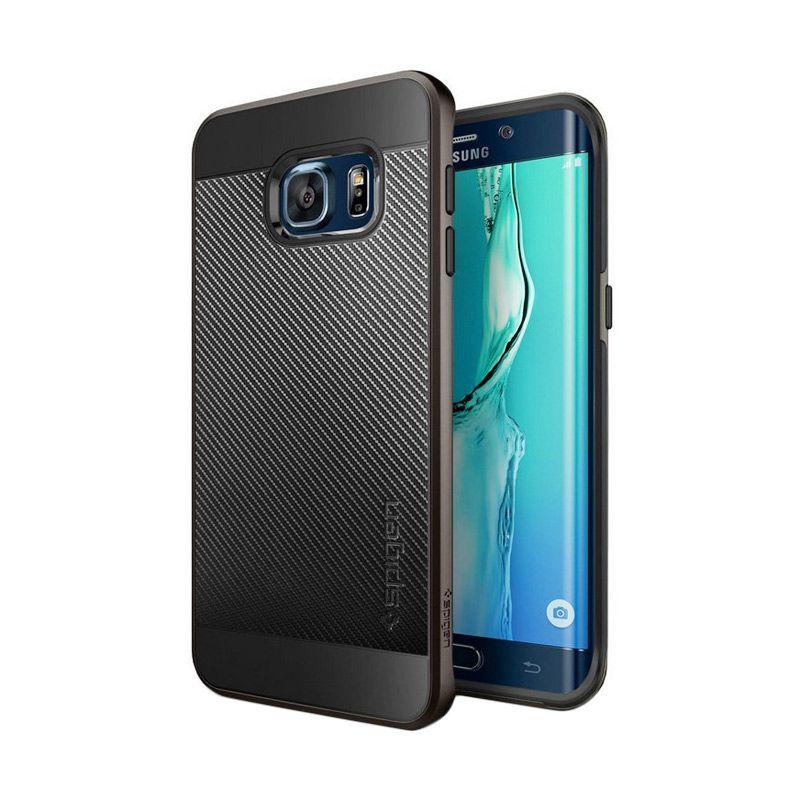 Spigen Neo Hybrid Carbon Gunmetal Casing for Samsung Galaxy S6 Edge Plus