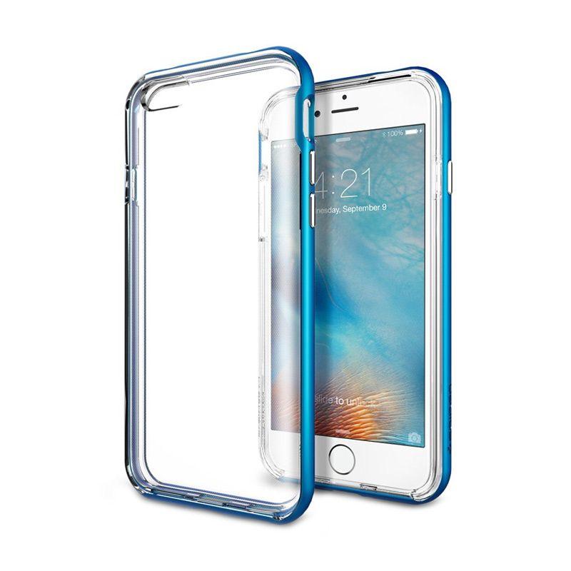 Spigen Neo Hybrid EX Blue Casing for iPhone 6S or 6 [4.7 Inch]