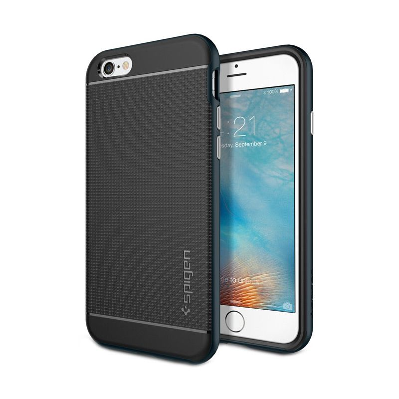 Spigen Neo Hybrid Metal Slate Casing for iPhone 6S or 6 [4.7 Inch]