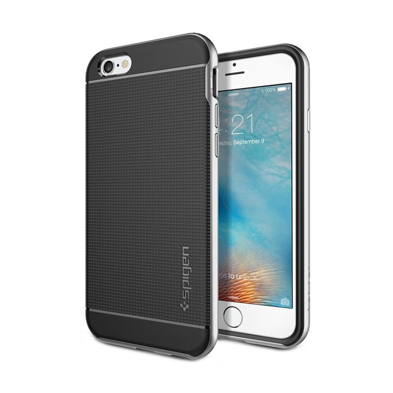 Spigen Neo Hybrid Silver Casing for iPhone 6S or 6 [4.7 Inch]