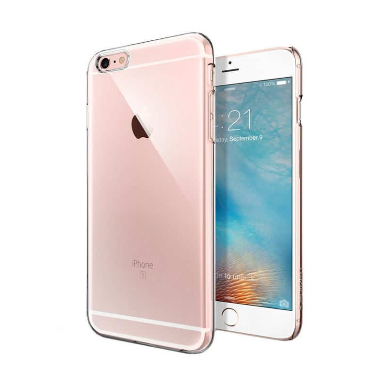 Spigen Thin Fit Clear Casing for iPhone 6S Plus or 6 Plus [5.5 Inch]