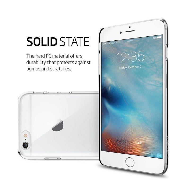 outlet store 71632 510e0 Spigen Thin Fit Case Casing for iPhone 6s Plus / iPhone 6 Plus - CLEAR