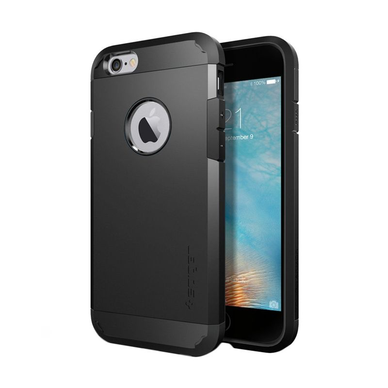 Spigen Tough Armor Black Casing for iPhone 6S or 6 [4.7 Inch]