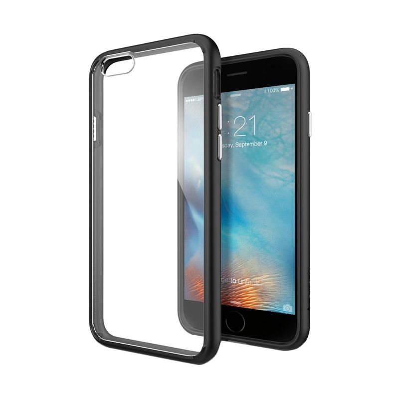 Spigen Ultra Hybrid Black Casing for iPhone 6S or 6 [4.7 Inch]