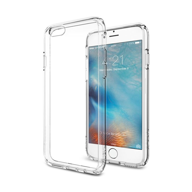 Spigen Ultra Hybrid Clear Casing for iPhone 6S or 6 [4.7 Inch]