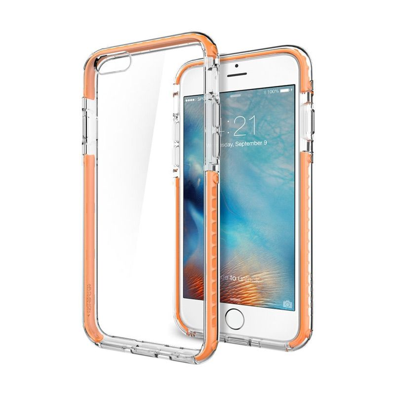 Spigen Ultra Hybrid Tech Orange Casing for iPhone 6S or 6 [4.7 Inch]
