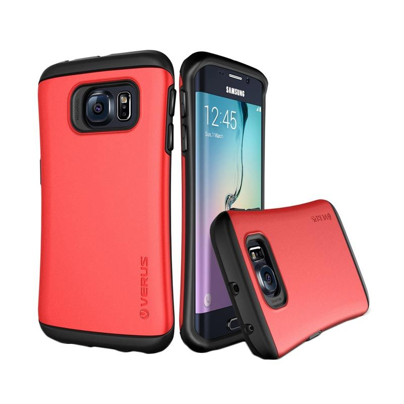 Verus Hard Drop Crimson Red Casing for Galaxy S6 Edge