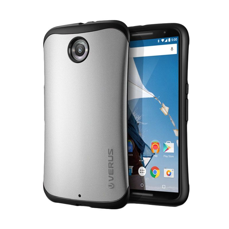 Verus Hard Drop Google Light Silver Casing for Nexus 6
