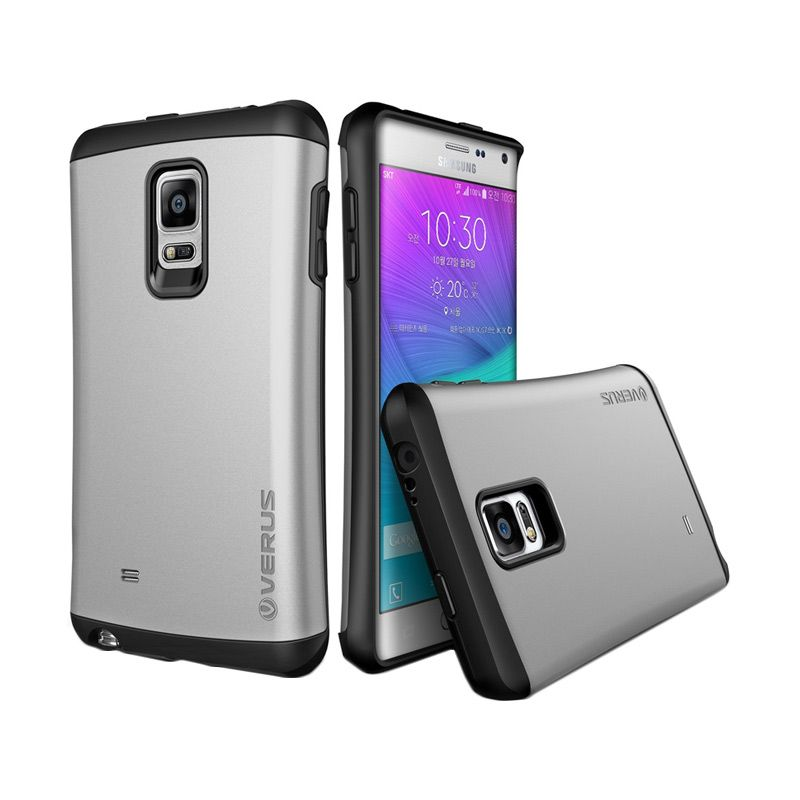 Verus Hard Drop Light Silver Casing for Galaxy Note Edge
