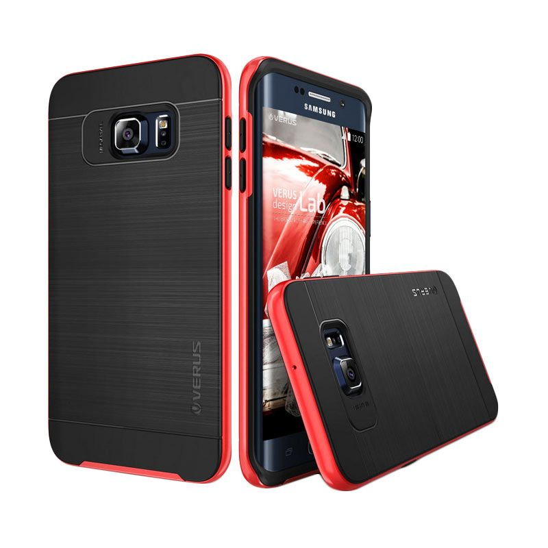 Verus High Pro Shield Crimson Red Casing for Samsung Galaxy S6 Edge Plus