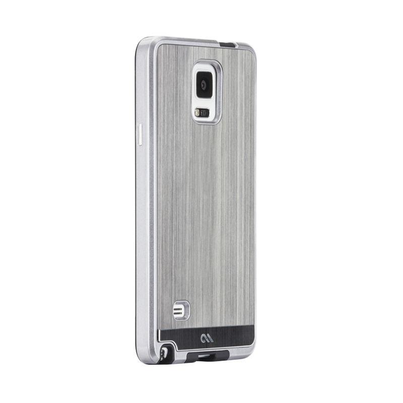 Case-mate Brushed Alumunium Gunmetal Casing for Samsung Galaxy Note 4