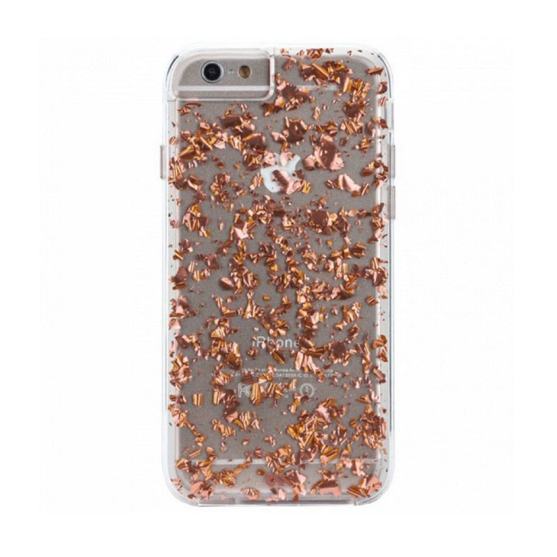 Case-Mate Karat Rose Gold Casing for iPhone 6s or 6 Plus
